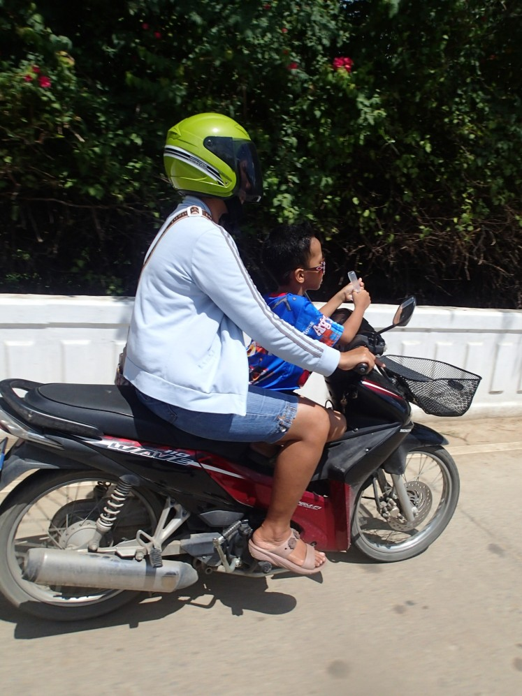 Another example of kids on bikes