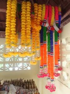 Buddhist garlands