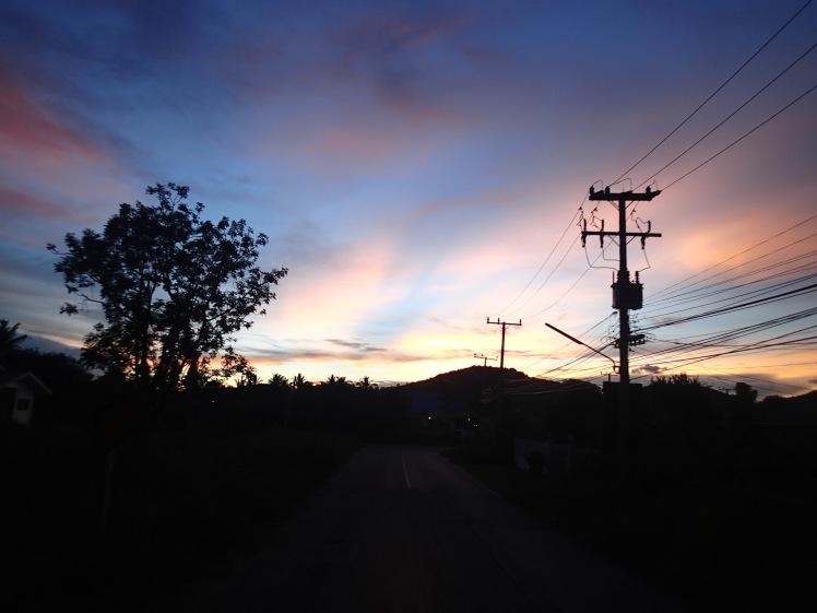 Driving home at dusk - beautiful!