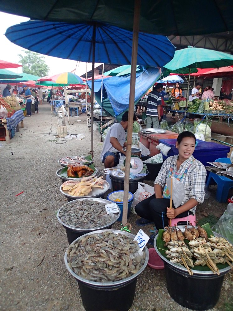 Don't ever be afraid to eat the street food. The food markets in Thailand are amazing!