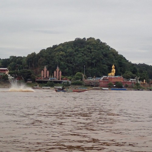 The Golden Triangle - Thai side