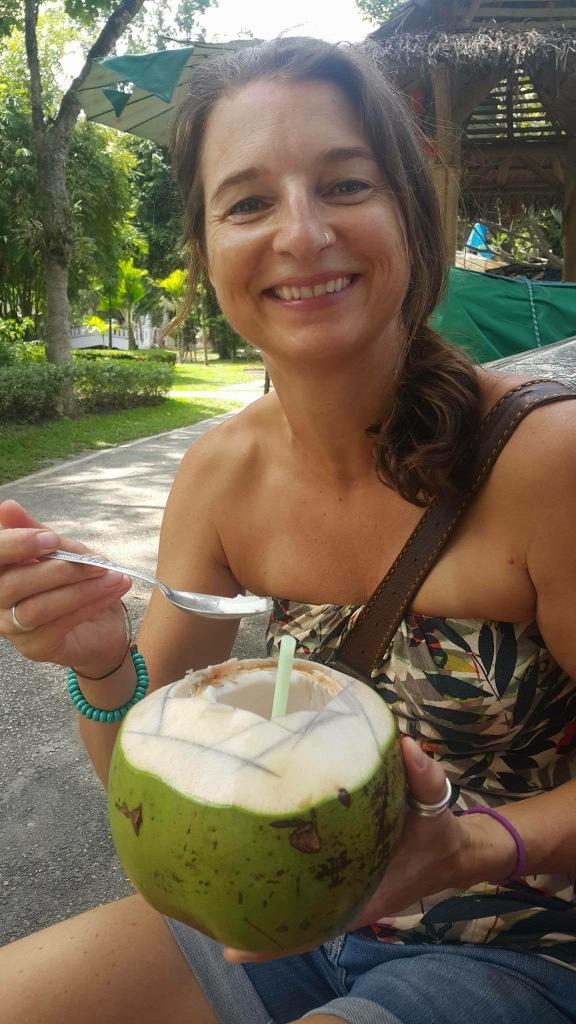 Fresh coconut - ALWAYS a winner!