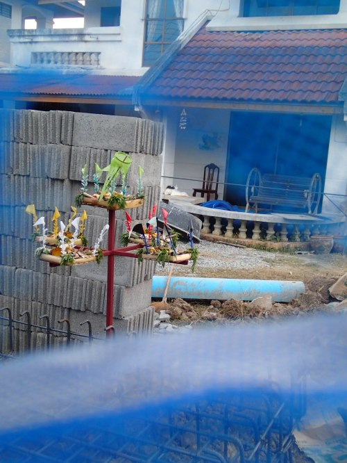 More building work starting in our street so another blessing